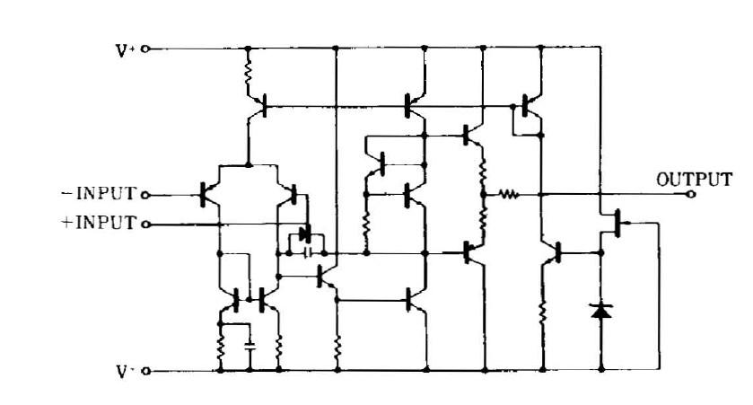 NJM4558D 4558D block diagram.