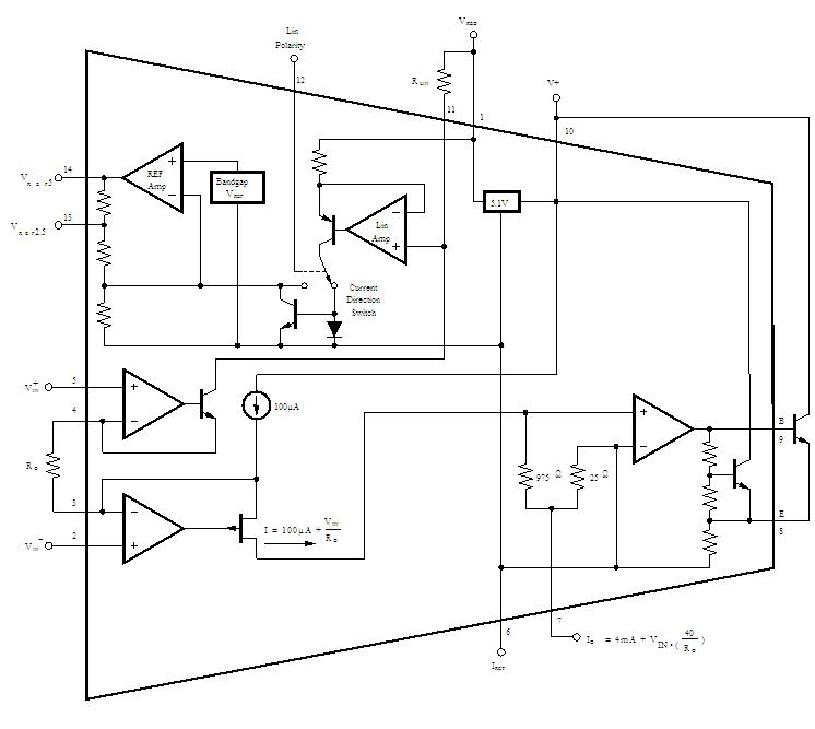 XTR106P block diagram
