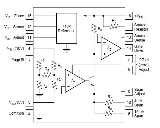 XTR110KP block diagram