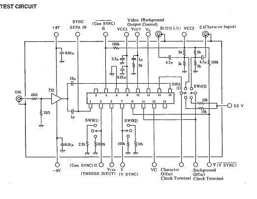 NJM2207S Test Circuit