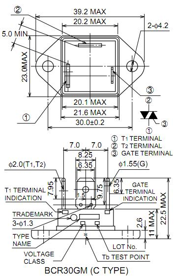 BCR30GM block diagram