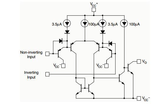 Comparator ICs 2-36V Dual Commercial Temp 100 pieces