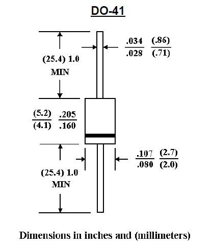 1N4001 package circuit