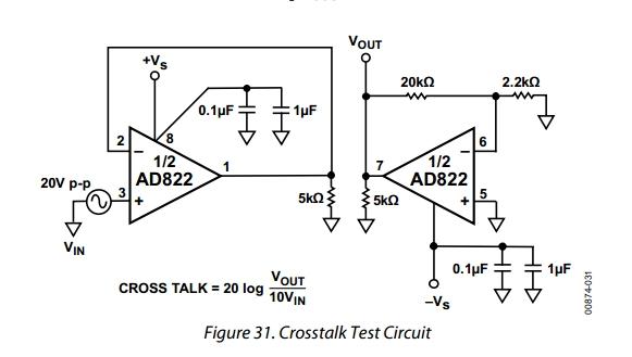 AD822ARZ-REEL7 Circuit