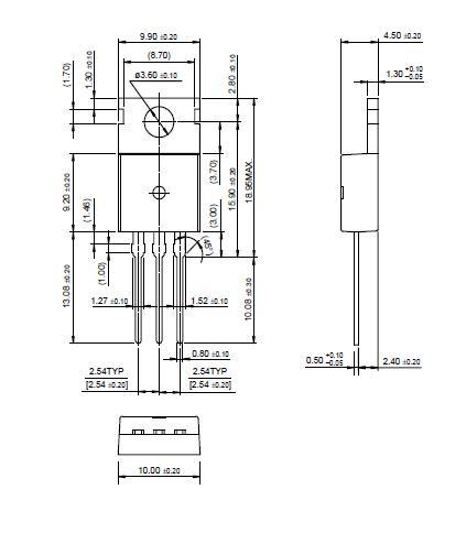 FJP13007H1TU block diagram