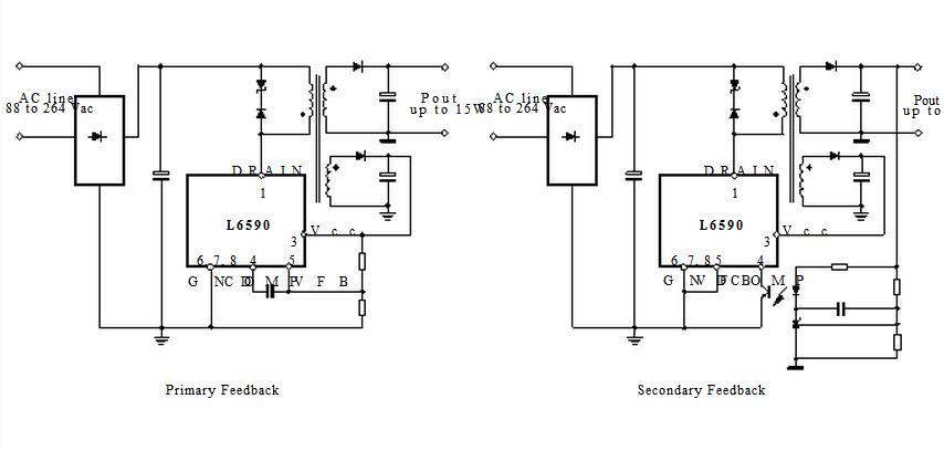 L6590D block diagram