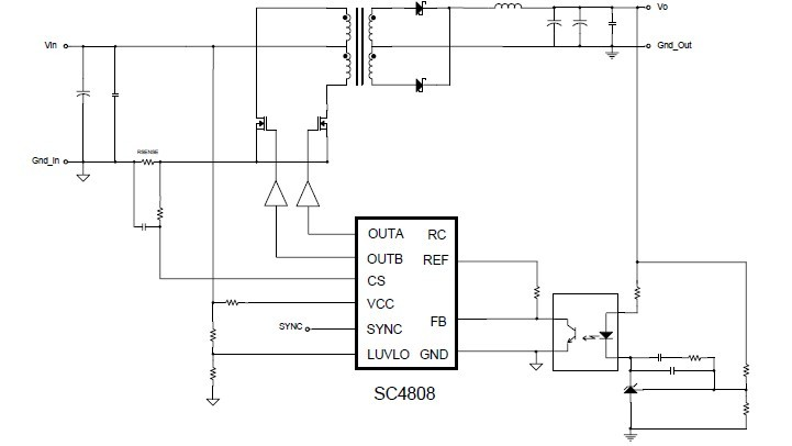 sc4871a/b pin connection
