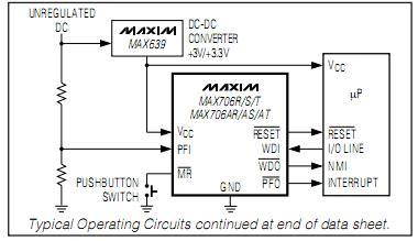 MAX706TESA block diagram