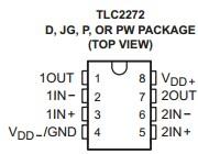 TLC2272CDR package dimensions