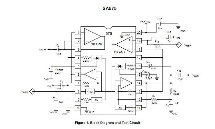 SA575DR2G block diagram