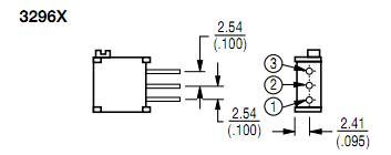 3296X-1-501LF block diagram