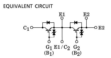 MG100Q2YS42 equivalent circuit