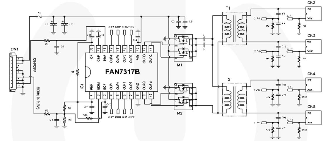 FAN7317B block diagram