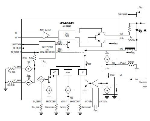 схема драйвер лазер схема