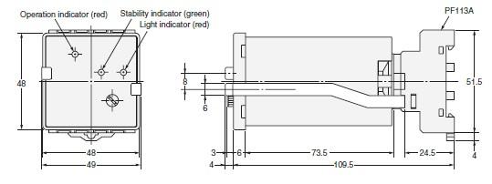 E3C-C dimension figure