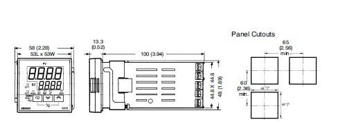 E5CK-AA1 pin connection