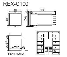 2013983233132 rex c100 rex c400 rex c700 rex c900 rkc temperature controller rex c100 wiring diagram at n-0.co