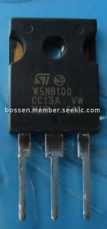 STW6NB100 Picture