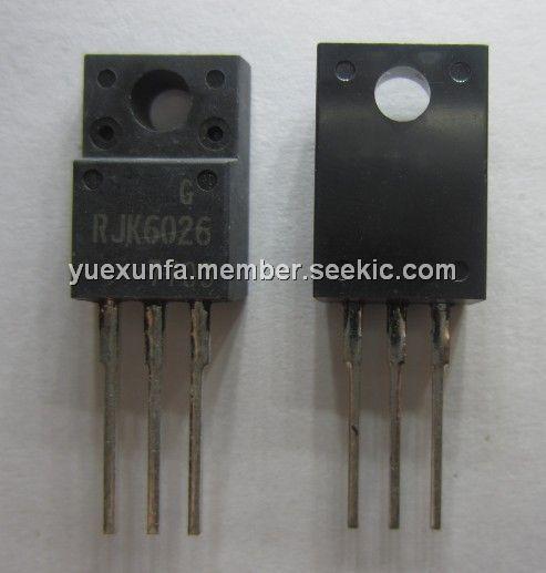 RJK6026 RJK6026 TRANSISTOR TO220