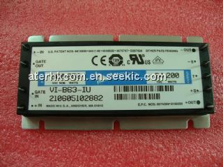 VI-B63-IU  DC-DC POWER SUPPLY VICOR Picture