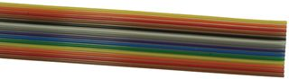 9R28014 000100 - FLAT CABLE, 14COND, 100FT, 28AWG, 300V detail