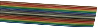 9R28016 000100 - FLAT CABLE, 16COND, 100FT, 28AWG, 300V detail