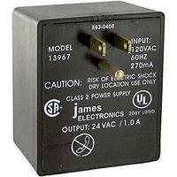 960X/980X - AD-DC CONV, EXTERNAL PLUG IN, 1 O/P, 1A, 24V detail