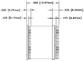 AB-044-SO09S-A-M - IC ADAPTER, 44-SOIC TO 44-DIP detail