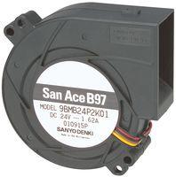 9BMB24P2K01 - DC BLOWER, 97 X 33MM, 24V detail