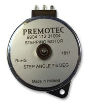 PREMOTEC9904-112-31004STEPPER MOTOR, 7.5DEG detail