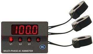 ACM3P-4-AC1-R-C - PANEL DISPLAY, AMMETER, LED, 110mA, 85V TO 264V detail
