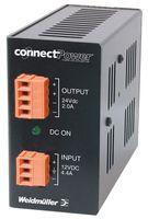 9927480012 - AC-DC CONV, DIN RAIL, 1 O/P, 55W, 3A, 12V detail