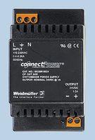 9928890012 - AC-DC CONV, DIN RAIL, 1 O/P, 18W, 1.5A, 12V detail