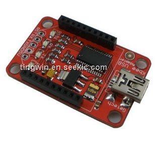 ICStation Xbee Adapter Mini USB Xbee Shield - YouTube
